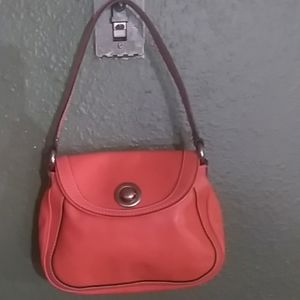 Marc Jacobs orange small hand bag